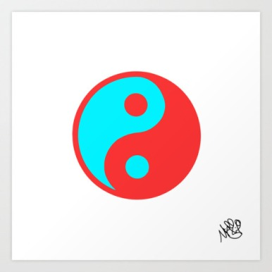 3-D Yin Yang by Michael Shirley