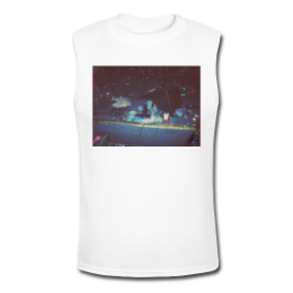 Afterparty tank tee by Michael Shirley