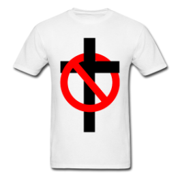 Antichrist mens tee by Michael Shirley