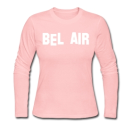 Bel Air womens pullover by Michael Shirley