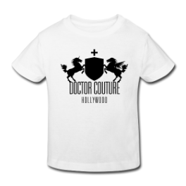 Doctor Couture Crest toddler tee by Michael Shirley