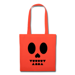 Ex-Vampire Halloween tote bag by Michael Shirley