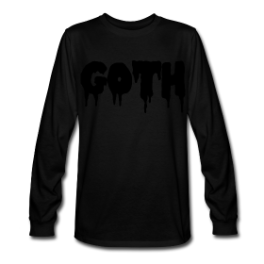 Goth pullover by Michael Shirley
