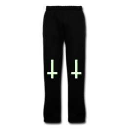 Gummo glow in the dark mens sweatpants by Michael Shirley