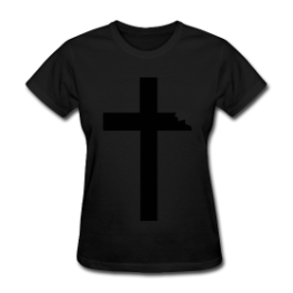 Heretic womens tee by Michael Shirley