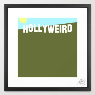Hollyweird by Michael Shirley