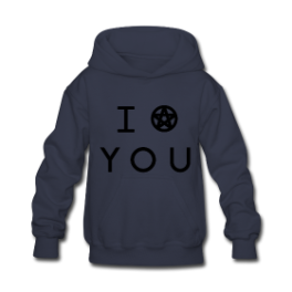 I Put A Spell On You kids hoodie by Michael Shirley