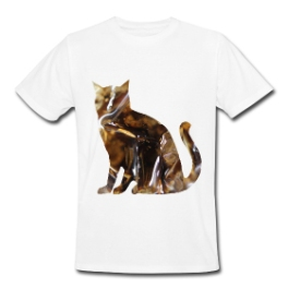 Kitty Cola mens tee by Michael Shirley