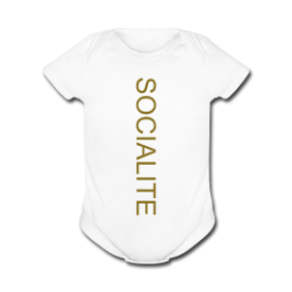 Lazy Socialite baby romper by Michael Shirley