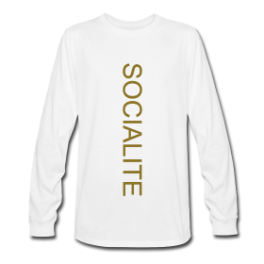 Lazy Socialite pullover by Michael Shirley