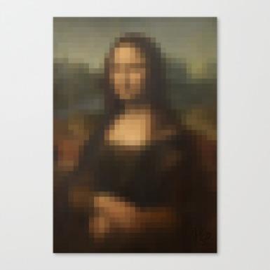Mona Lisa 2.0 by Michael Shirley
