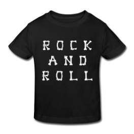 Rock and Roll toddler tee by Michael Shirley