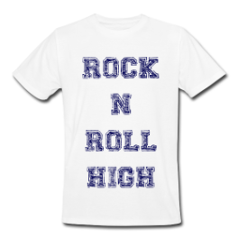 Rock 'N' Roll High mens tee by Michael Shirley