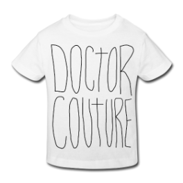 Scribble Logo toddler tee by Michael Shirley