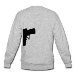 Secret Agent mens pullover by Michael Shirley