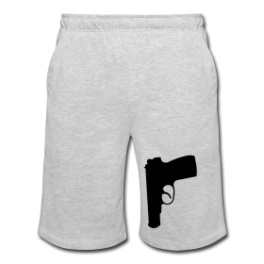 Secret Agent mens shorts by Michael Shirley