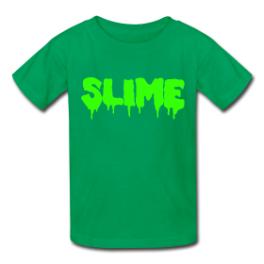 Slime kids tee by Michael Shirley