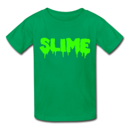 Slime kids tee by Michael Shirley
