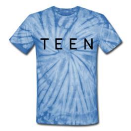 Teen Dream tie dye tee by Michael Shirley