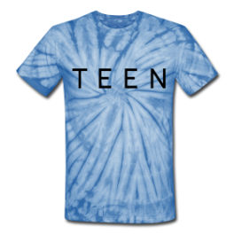 Teen Dream tie dye tee by Michael Shirley