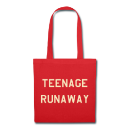 Teenage Runaway tote bag by Michael Shirley