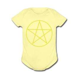 Watch Over Me baby romper by Michael Shirley
