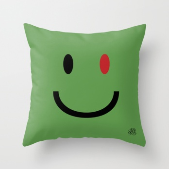 Zombie Smiley #1 plush by Michael Shirley